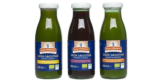 Gröna smoothies på språng