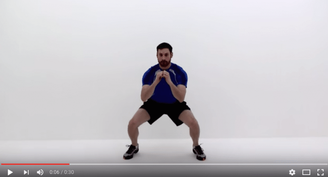 Squat challenge – dag 11. Squat Jacks