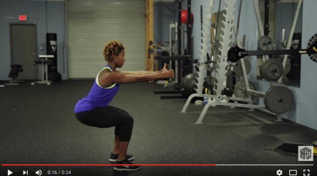 Squat challenge – dag 12. Squat med rodd