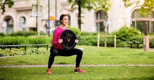 Träningsprogram: Cirkelträning med fria vikter
