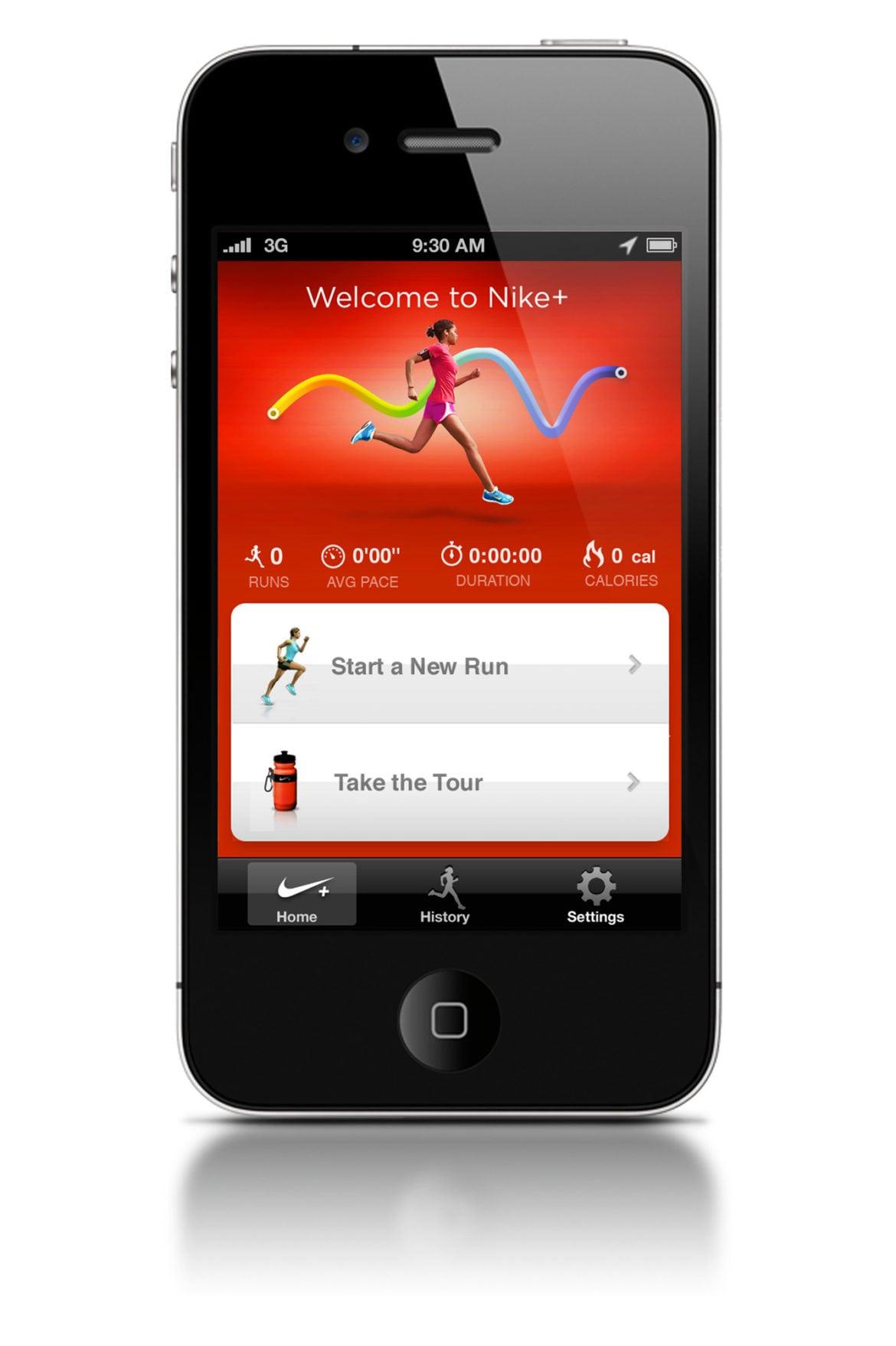 Ny Nike+ GPS-app direkt i din IPhone