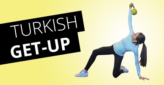 Turkish Get-up i film – powerövning för corestyrka