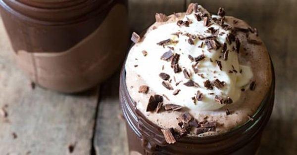 Fryst varm choklad – drömdrink för alla chokladälskare