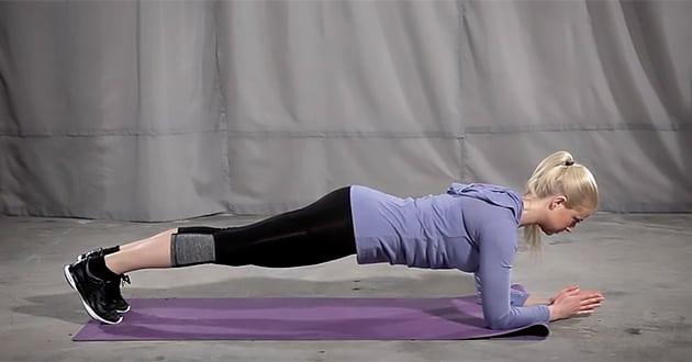 Veckans träningsövning: Plankan