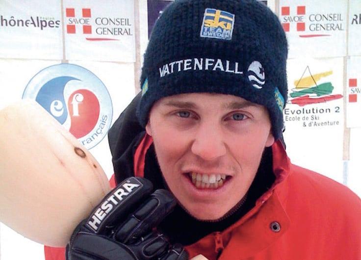 I skidform: Mattias Wagenius