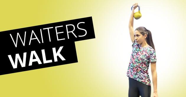 Waiters Walk – veckans superövning
