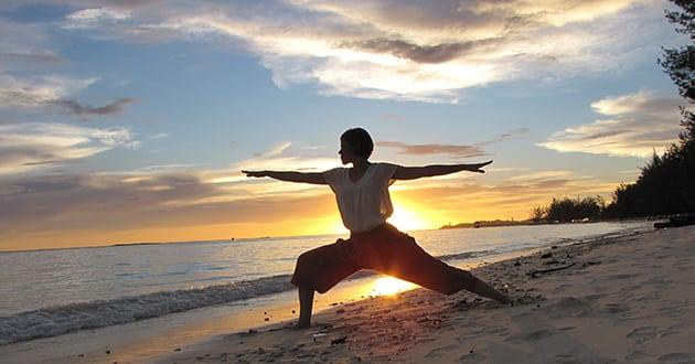 Heta träningstrenden - yogaresor utomlands
