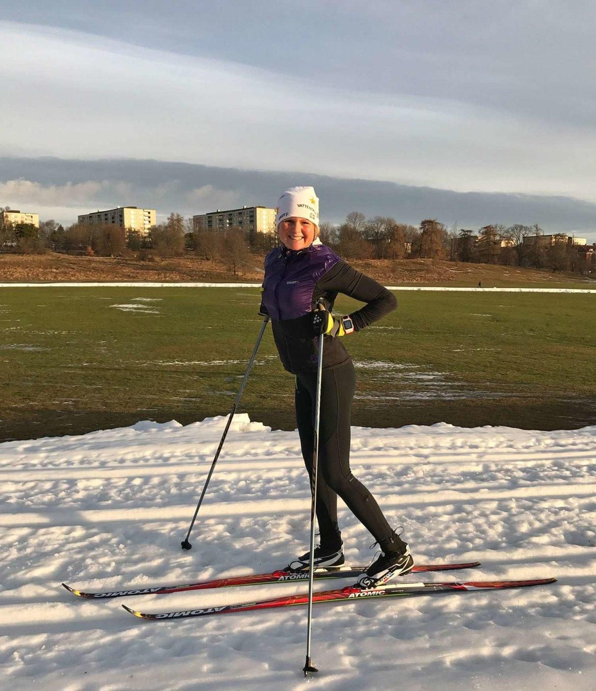 Vinterns Längdspår I Stockholm