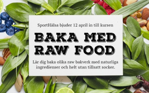raw food bakverk