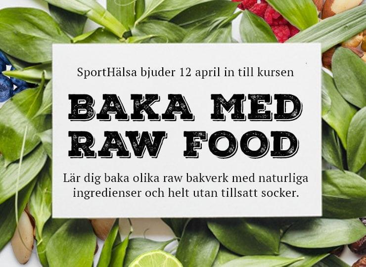 raw food bakverk