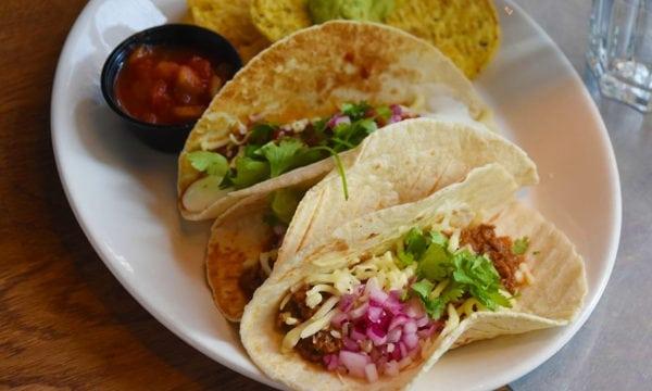 vegansk tacos