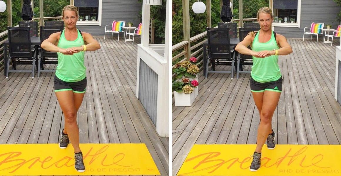 övningar för benen