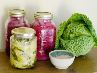 syrade grönsaker