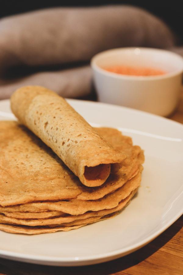 proteinrika tortillabröd