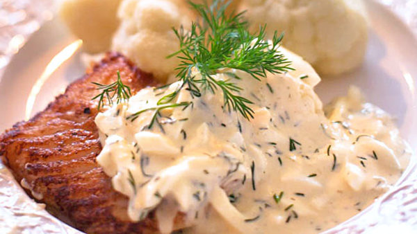 torsk med äggsås