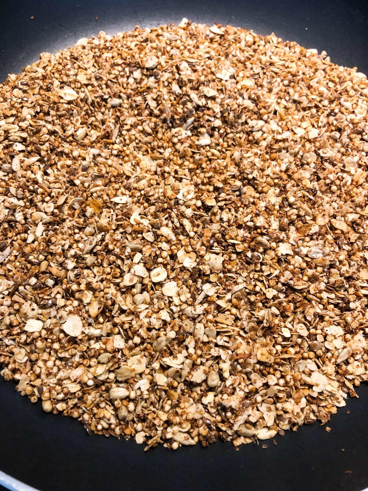 granola i stekpanna