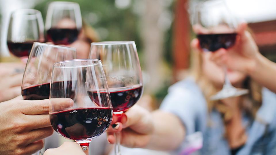hälsofördelar med vin
