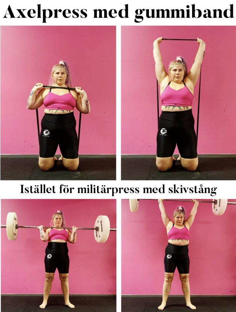 Basövningarna - Axelpress