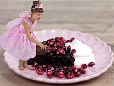 kladdkaka med svarta bönor