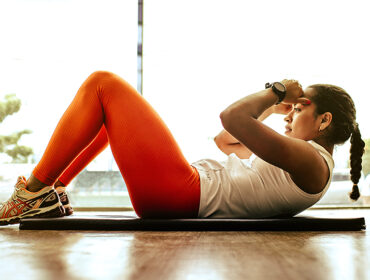 magträningspass cirkelpass för magen