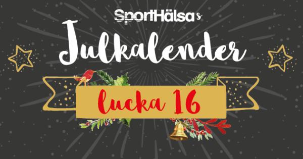 Lucka #16 - Julig och nyttig marsipangris!