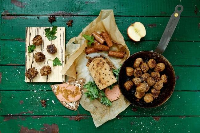 Ett vegetariskt julbord är ett nyttigt julbord