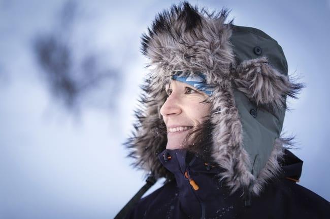 Sjuksköterskan Johanna skidar ensam mot Sydpolen