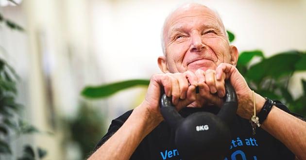 Forskare: Motionera regelbundet – och bli gammal
