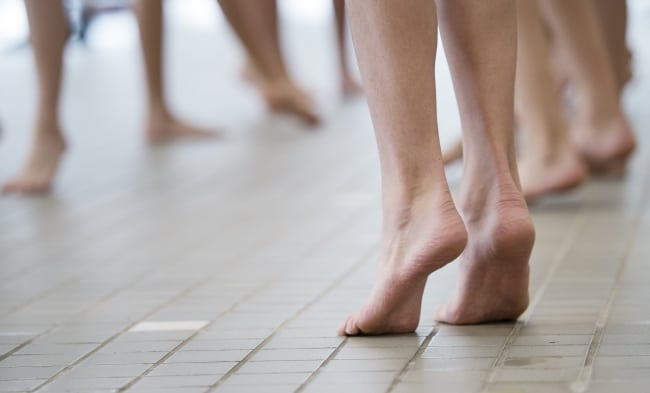 10 träningstips för friska fötter