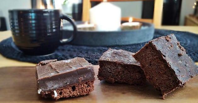 Nyttigare och goda brownies