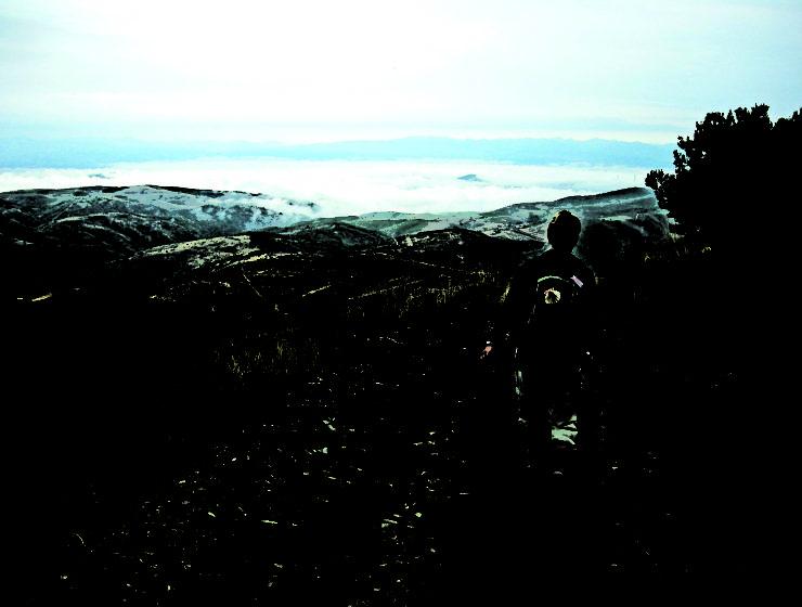 Pilgrimsvandring i pittoresk miljö