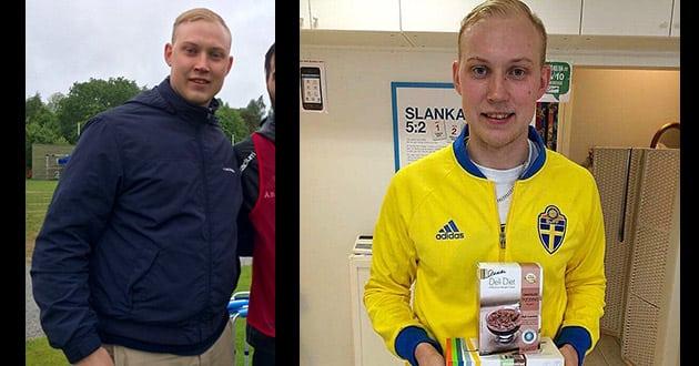 Fredrik rasade i vikt – med pulverdiet