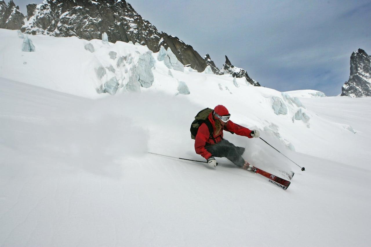 """""""All slags snö"""" i Argentiére"""