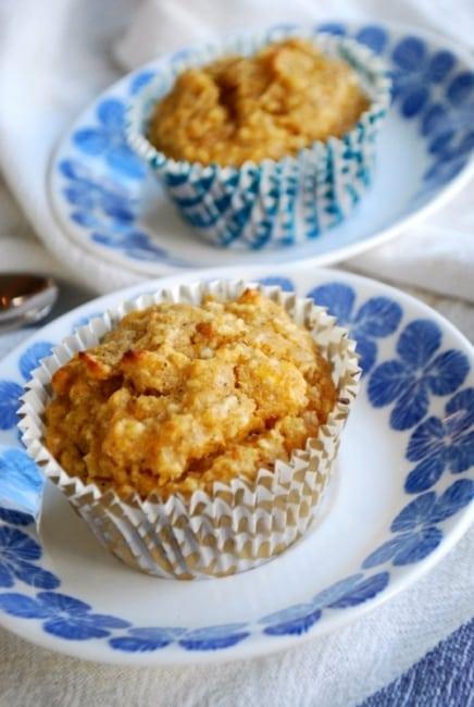 Recept: Aprikosmuffins utan mjöl och socker