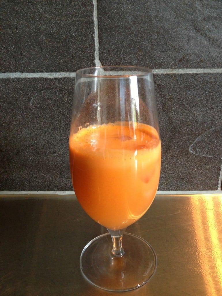 Recept – nyttig morotsdrink mot förkylning