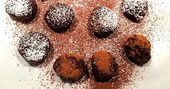 Recept: Vegansk chokladtryffel