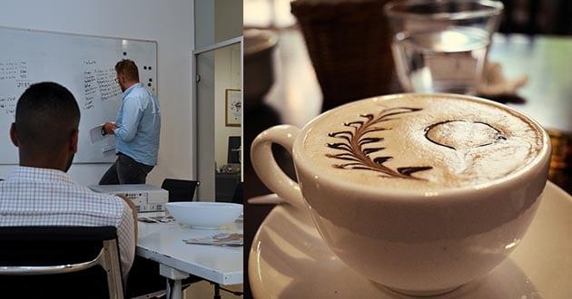 Därför borde du inte dricka jobbkaffe på morgonen