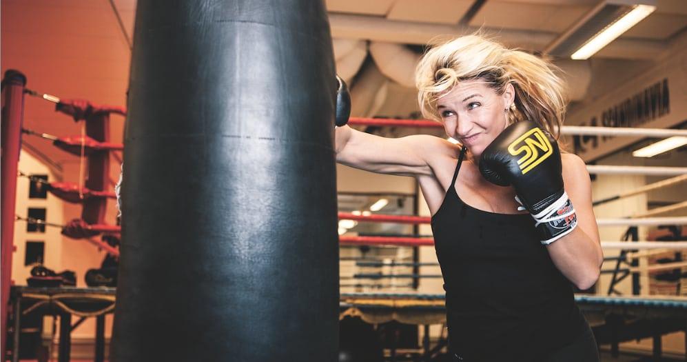 """Kristin Kaspersen """"Jag vill vårda min kropp så bra jag kan"""""""