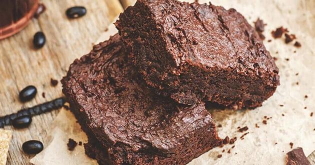 Saftiga brownies med protein