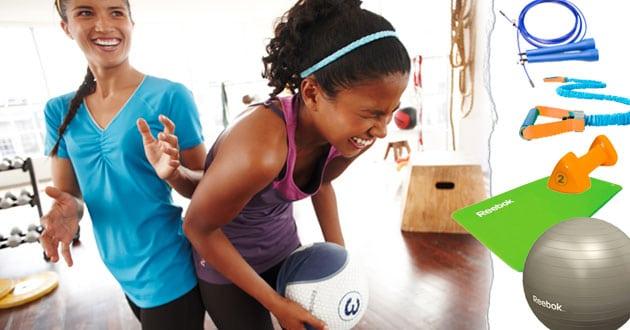 Vi listar de bästa redskapen för att träna hemma!