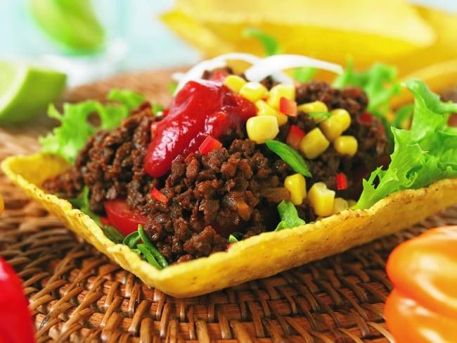Recept: Veggi tacofärs