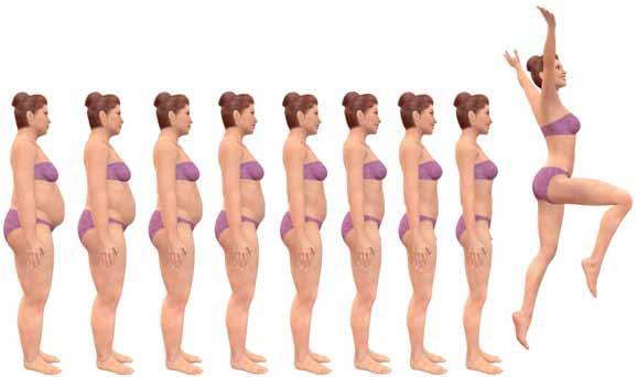 Viktminskning: 28 tappade kilo