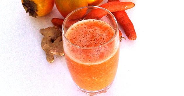 Recept: Morotsdrink mot förkylning