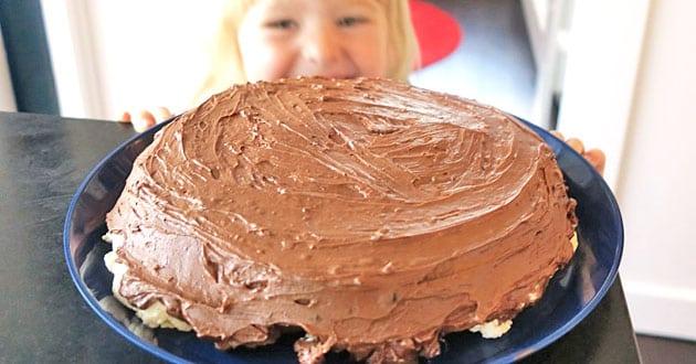 Sockerfri chokladtårta – recept för maximal njutning