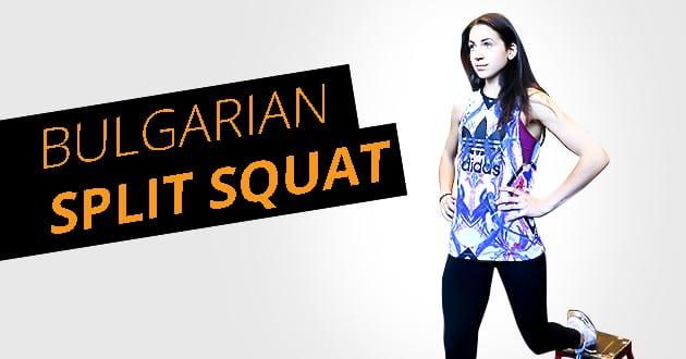 Bulgarian Split Squat - veckans superövning