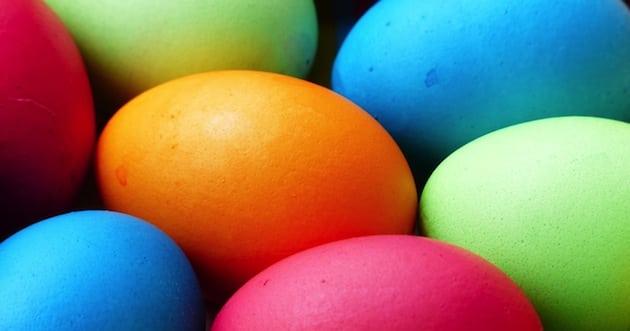 Så mycket ägg och godis äter vi i påsk