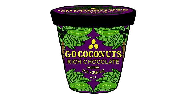 Go coconuts - den nya ekoglassen utan tillsatser