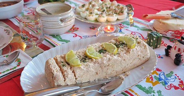 Fiskmousse till festbordet