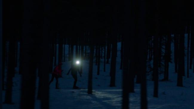 Premiär för världens första nattlopp på skidor