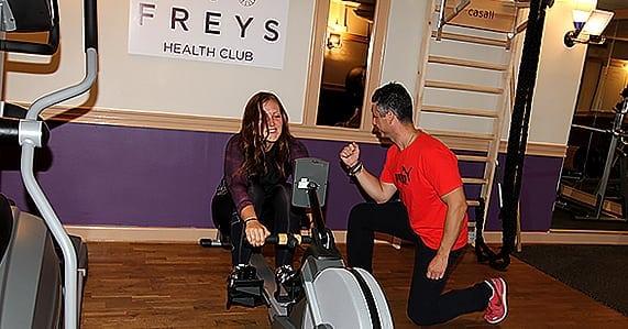 Personligare träning på Freys Health Club